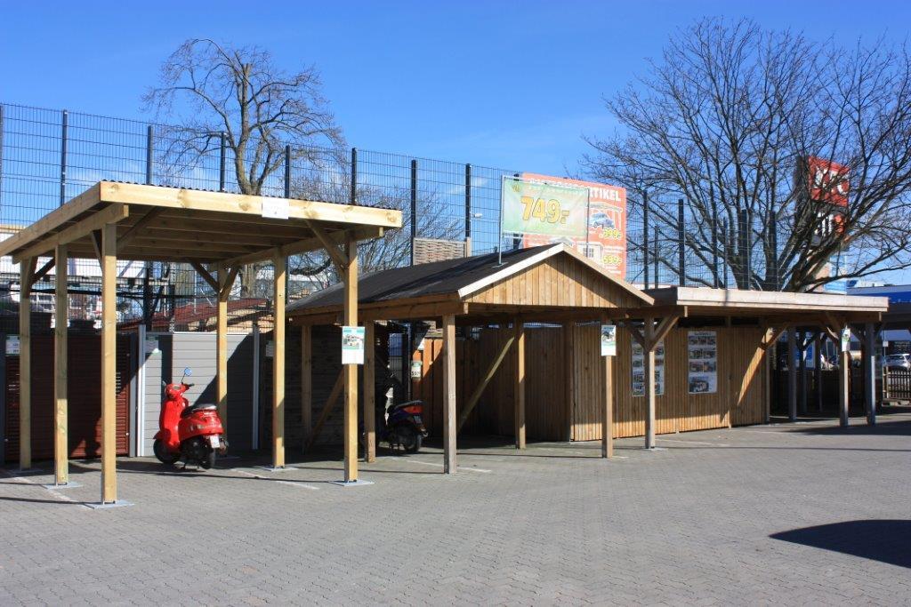 Hagebaumarkt l beck ln aboplus karte for Hagebaumarkt carport