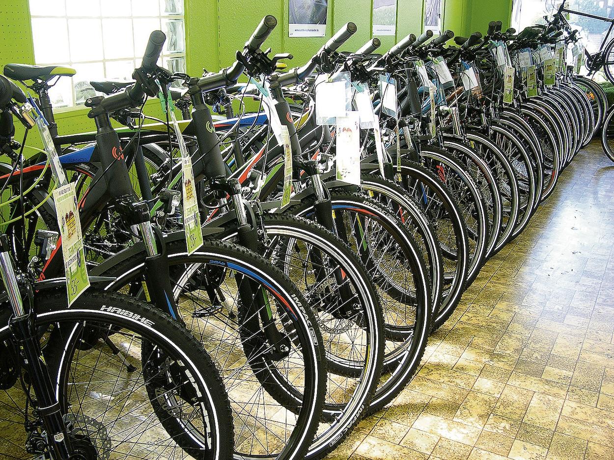 Das Fachgeschäft E&W Markenräder verfügt über eine große Auswahl und erstklassigen Service. Fotos: hb